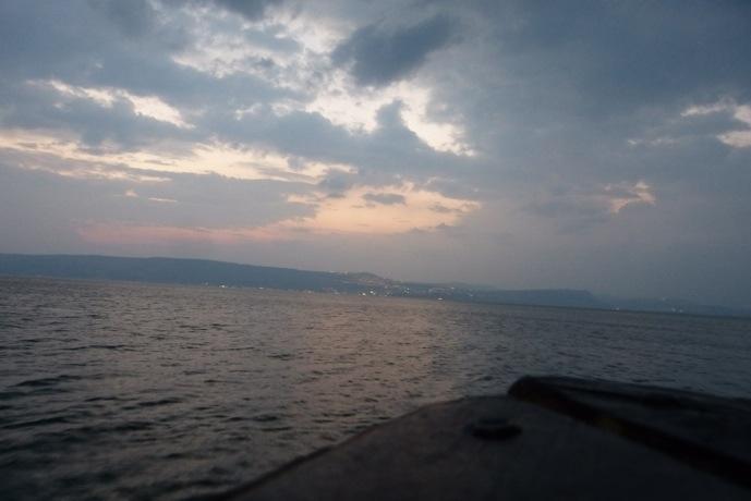 Abendstimmung am See Gennesaret