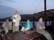 Besinnung auf dem See Gennesaret