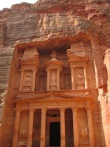 Petra: Fassade des Schatzhauses