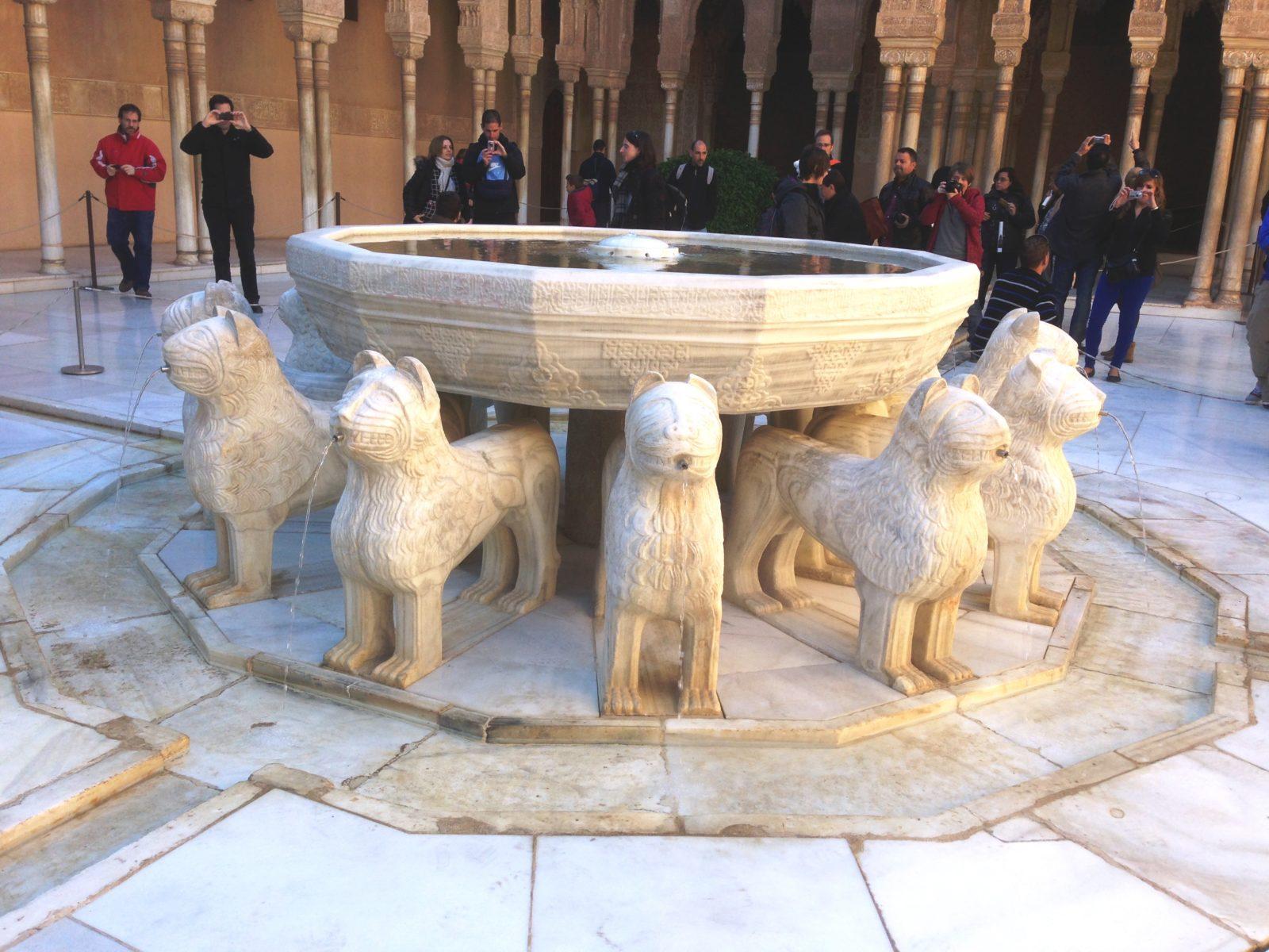 Granada, Löwenbrunnen