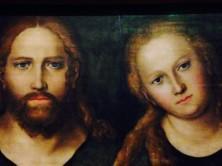 Cranach: Christus und Maria (Gotha)