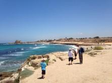 Caesarea Maritima an einem sonnigen Junitag
