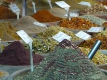 Gewürze im Bazar von Nazaret