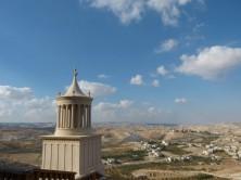 Herodeion mit dem Modell des Herodesgrabes