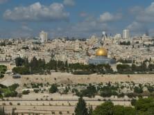 Panorama Jerusalems vom Ölberg