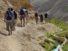 Wanderung im Wadi Qelt