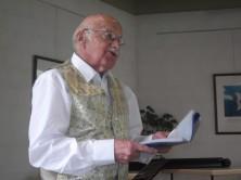 Festlichkeit zum 85. Geburtstag von Hermann Kuntz