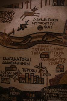 Landkarte von Madaba
