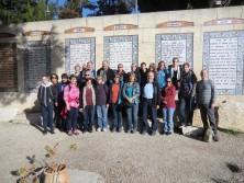 Die Schwaben sind am Ziel in der Pater-Noster-Kirche in Jerusalem