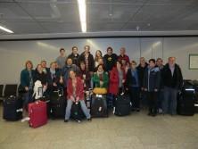 Am Donnerstag landete die Gruppe wieder in Deutschland
