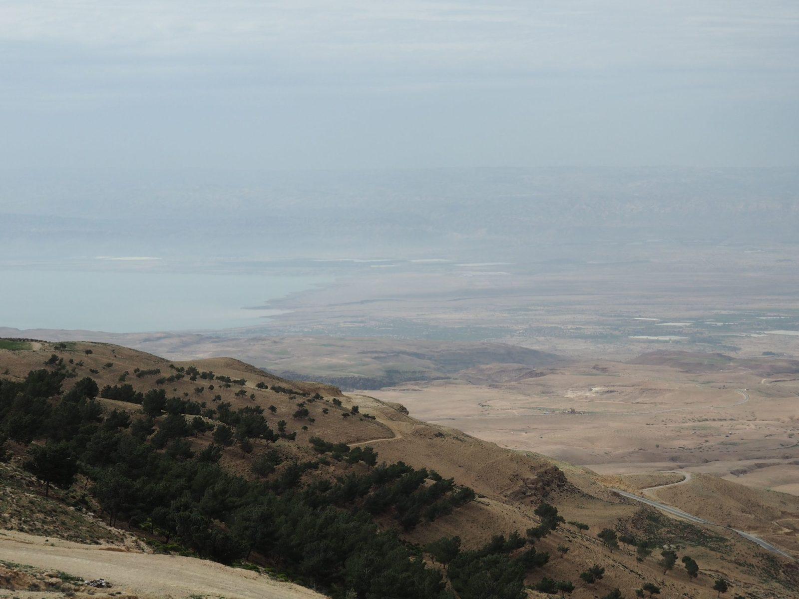 Blick vom Berg Nebo