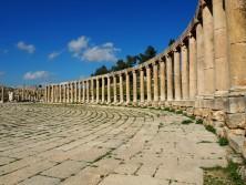 Die antike Stadt Gerasa - heute Jerash