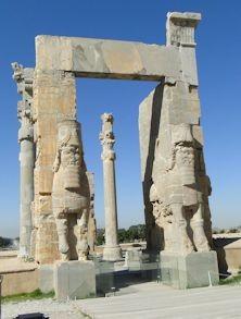 Stadttor in Persepolis