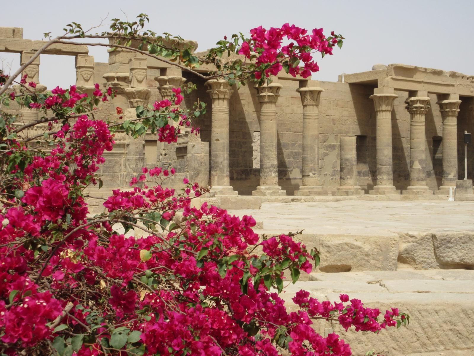 Isis-Tempel Philae, Foto: Marie-Luise Schrader