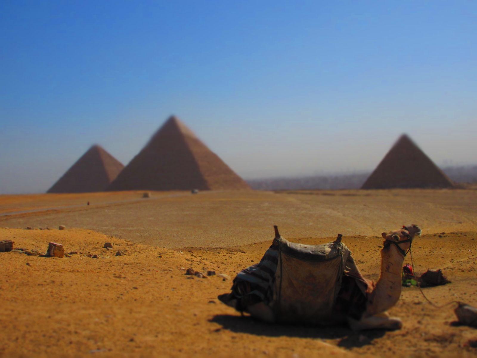 Pyramiden, Foto: Marie-Luise Schrader