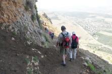 Abstieg in das Taubental auf dem Jesus-Trail