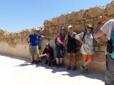 Masada Schatten ist Mangelware