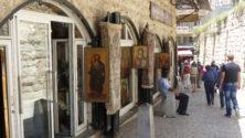 in den Gassen des Armenischen Viertels in Jerusalem