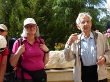 Führung im Kibuzz Lavi mit Henri Stein