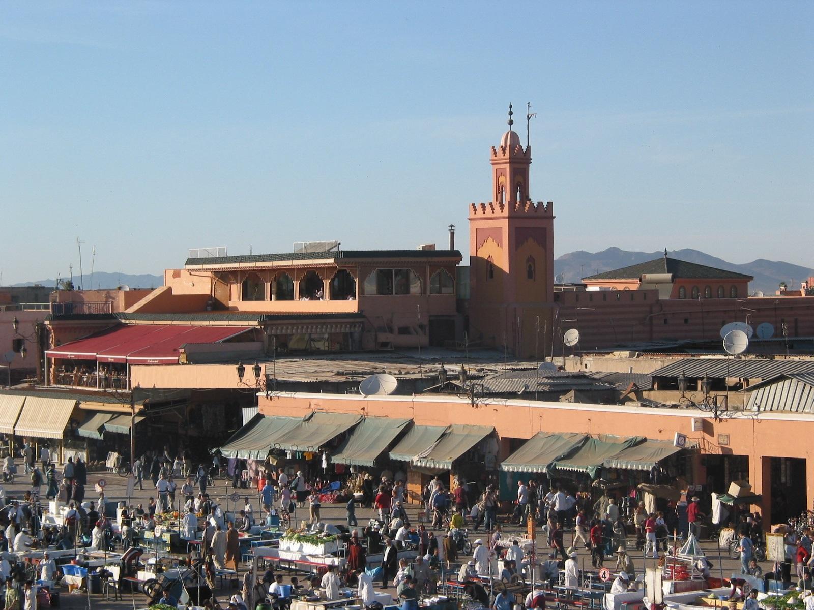 Marrakesch: Platz Djemaa el-Fna