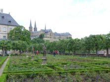 Bamberg: Rosengarten und St. Michael-Kloster