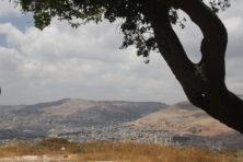 Ausblick auf Nablus und Garizim