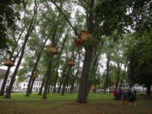 Meditations-Baumhäuser von Tadashi Kawamata