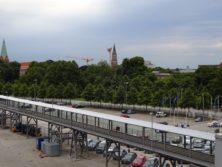 Ausschiffung in Kiel