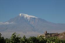 Berg Ararat und Kloster Khor Virap