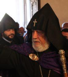 Einzug des Katholikos