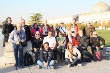 Biblische Reisen Gruppe in Isfahan