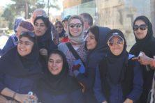 Begegnung mit iranischen Studentinnen