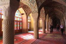 Wintergebetsraum Nasr-ol-Molk Moschee Shiraz