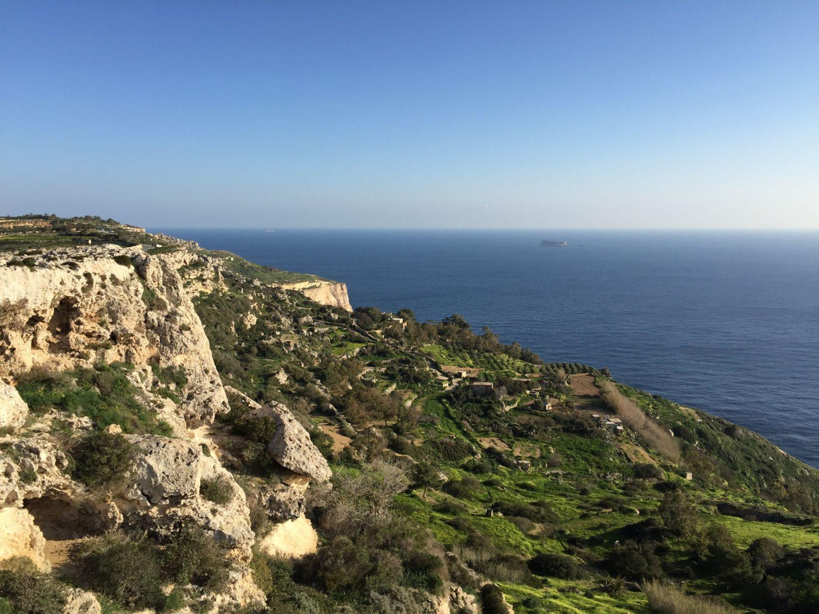 Ausblick von den Dingli Klippen