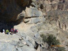 "Jebel Shams: Wandern im ""Grand Canyon"" des Omans auf ca 2000 m Höhe"