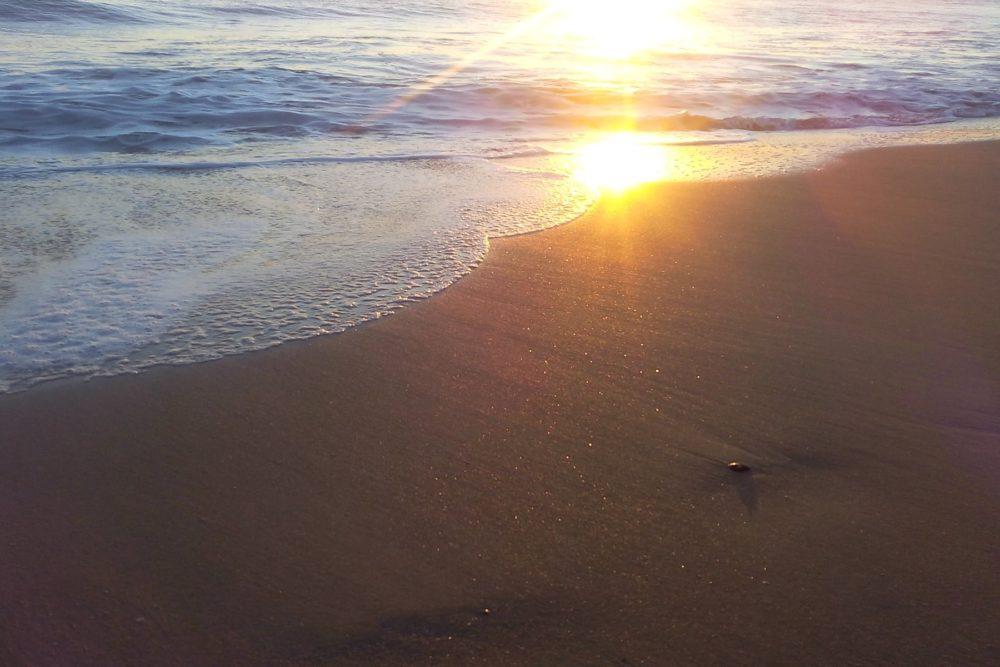 Sonnenaufgang an der Algarve