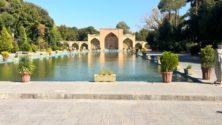 Isfahan: Gartenanlage des Chehel-Sotun-Palastes