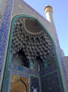 Isfahan: Eingangs-Iwan der Imam-Moschee, frühere Königsmoschee