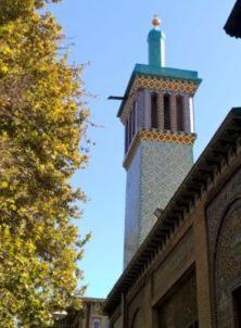 """Teheran: """"Windturm"""" am Golestan-Palast"""