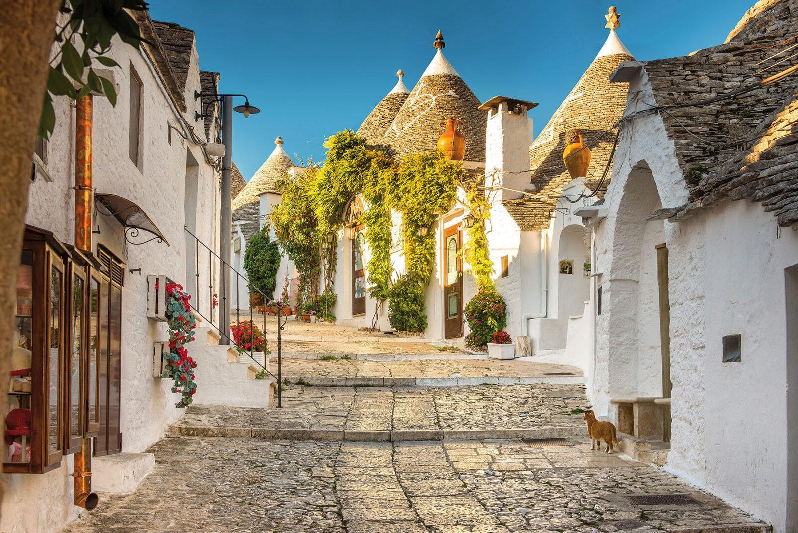 Apulien - eine authentische Region im wechselvollen maritimen Licht- und Farbenspiel