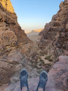"""""""Stille Zeiten"""" im Wadi Rum"""